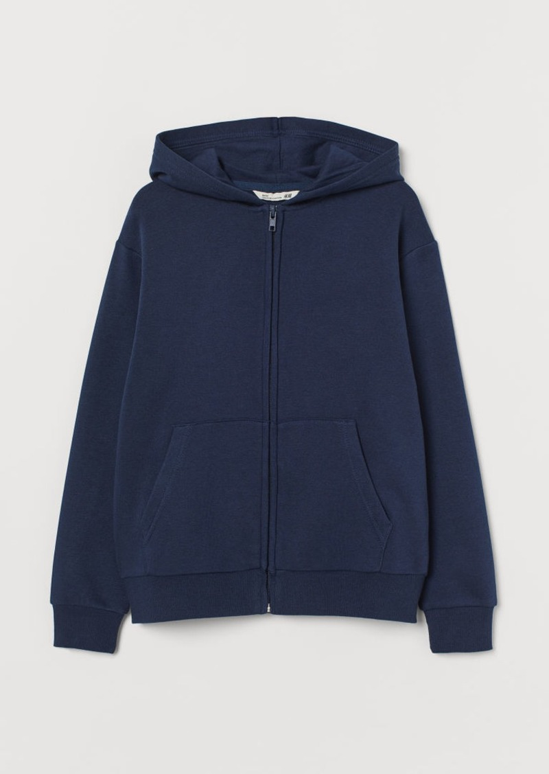 H&M H & M - Hooded Jacket - Blue