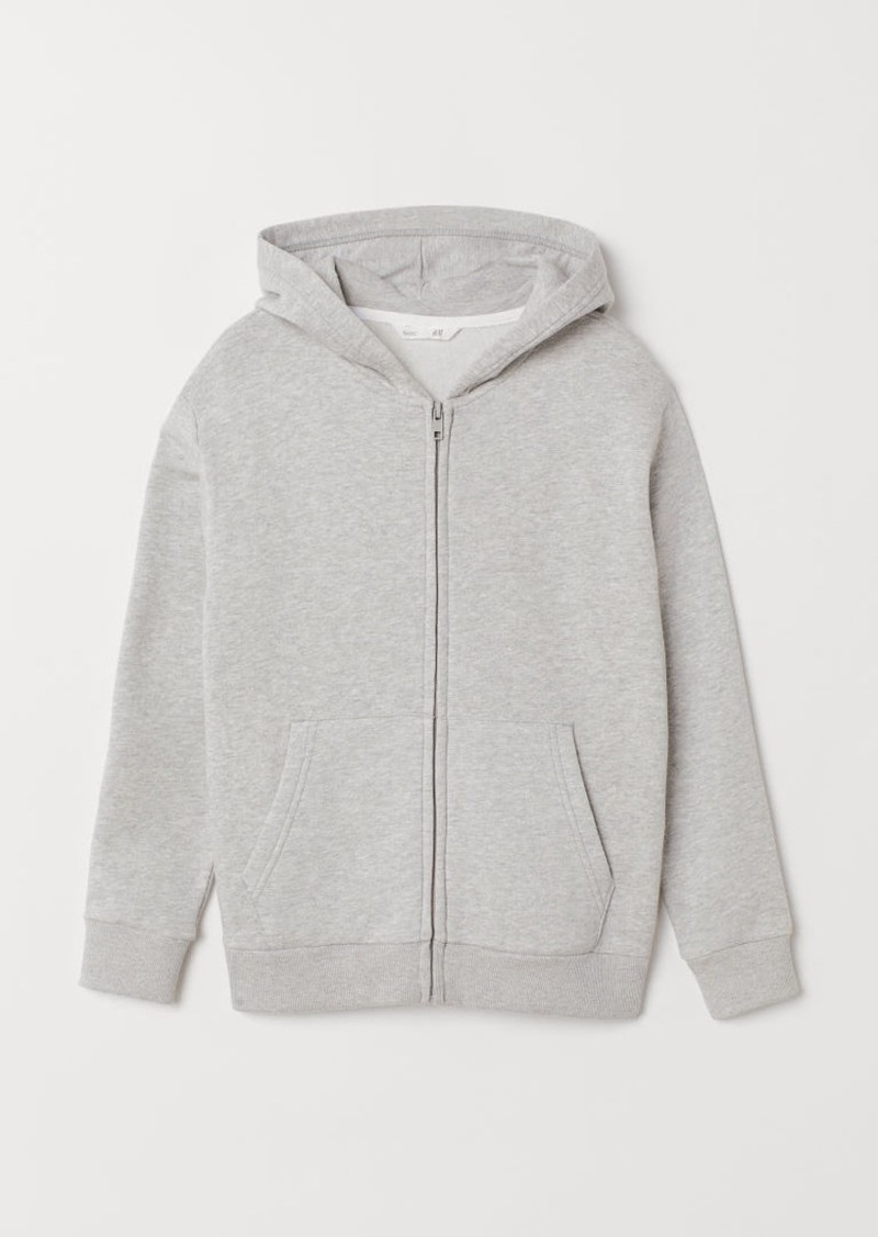 H&M H & M - Hooded Jacket - Gray
