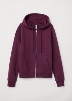 H&M H & M - Hooded Jacket - Purple