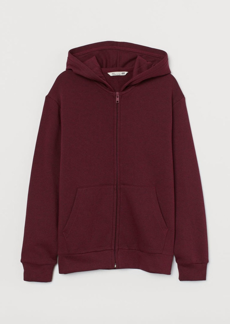 H&M H & M - Hooded Jacket - Red