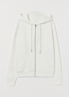 H&M H & M - Hooded Jacket - White