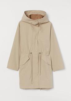H&M H & M - Hooded Parka - Beige