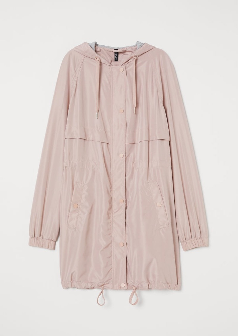 H&M H & M - Hooded Parka - Pink