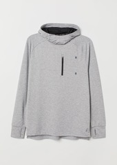 H&M H & M - Hooded Running Shirt - Gray