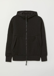 H&M H & M - Hooded Sports Jacket - Black