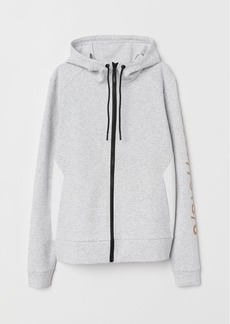 H&M H & M - Hooded Sports Jacket - White