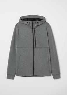H&M H & M - Hooded Sports Shirt - Gray
