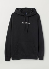 H&M H & M - Hooded Sweatshirt - Black
