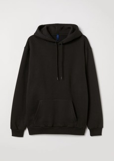 H&M H & M - Hooded Sweatshirt - Black