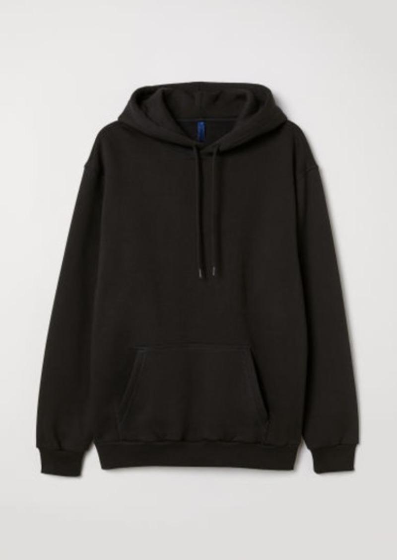 H&M H & M - Hoodie - Black