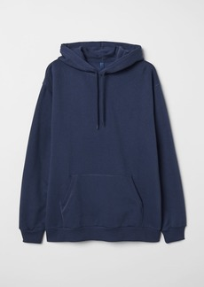 H&M H & M - Hooded Sweatshirt - Blue