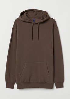 H&M H & M - Hooded Sweatshirt - Brown