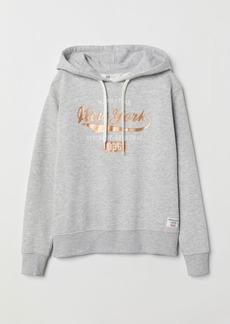 H&M H & M - Hooded Sweatshirt - Gray