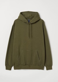 H&M H & M - Hooded Sweatshirt - Green
