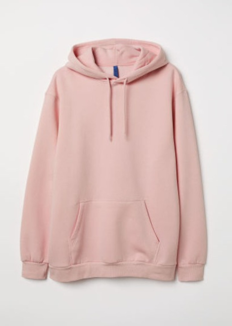 d7e43378d5 H&M H & M - Hooded Sweatshirt - Pink   Outerwear