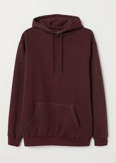 H&M H & M - Hooded Sweatshirt - Red
