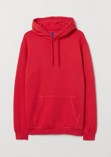 H&M H & M - Hooded Sweatshirt - Red