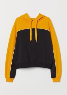 H&M H & M - Hooded Sweatshirt - Yellow