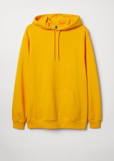 H&M H & M - Hooded Sweatshirt - Yellow