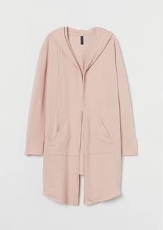 H&M H & M - Hooded Sweatshirt Cardigan - Pink