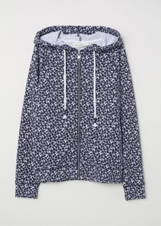 H&M H & M - Hooded Top - Blue