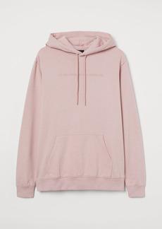 H&M H & M - Hoodie with Motif - Pink
