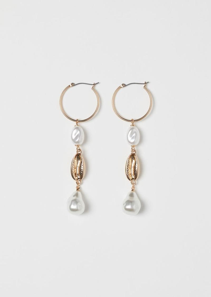 H&M H & M - Hoop Earrings - Gold