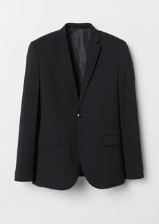 H&M H & M - Skinny Fit Blazer - Black