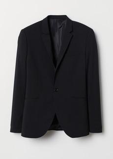 H&M H & M - Super Skinny Fit Blazer - Black