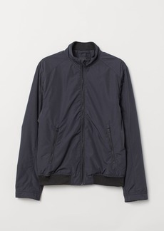 H&M H & M - Jacket with Stand-up Collar - Blue