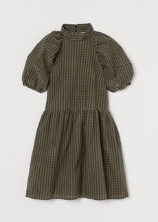 H&M H & M - Jacquard-weave Dress - Green