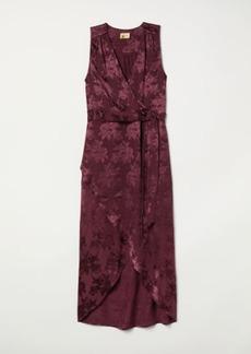 H&M H & M - Jacquard-weave Dress - Pink