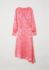 Hm h  m   jacquard weave dress   pink abv4a39ceef a
