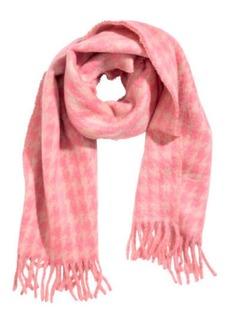 H&M H & M - Jacquard-weave Scarf - Beige