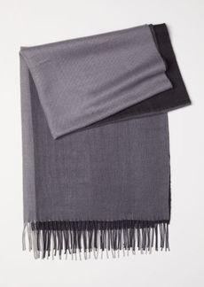 H&M H & M - Jacquard-weave Scarf - Gray