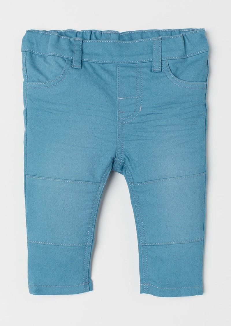 H&M H & M - Jeggings - Turquoise