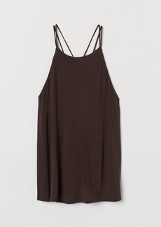 H&M H & M - Jersey Camisole Top - Brown