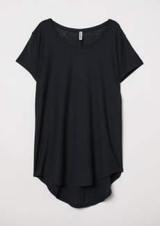 H&M H & M - Jersey Top - Black