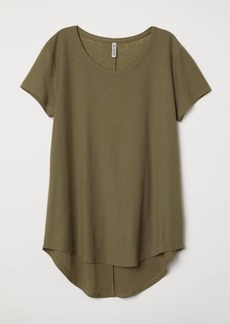 H&M H & M - Jersey Top - Green