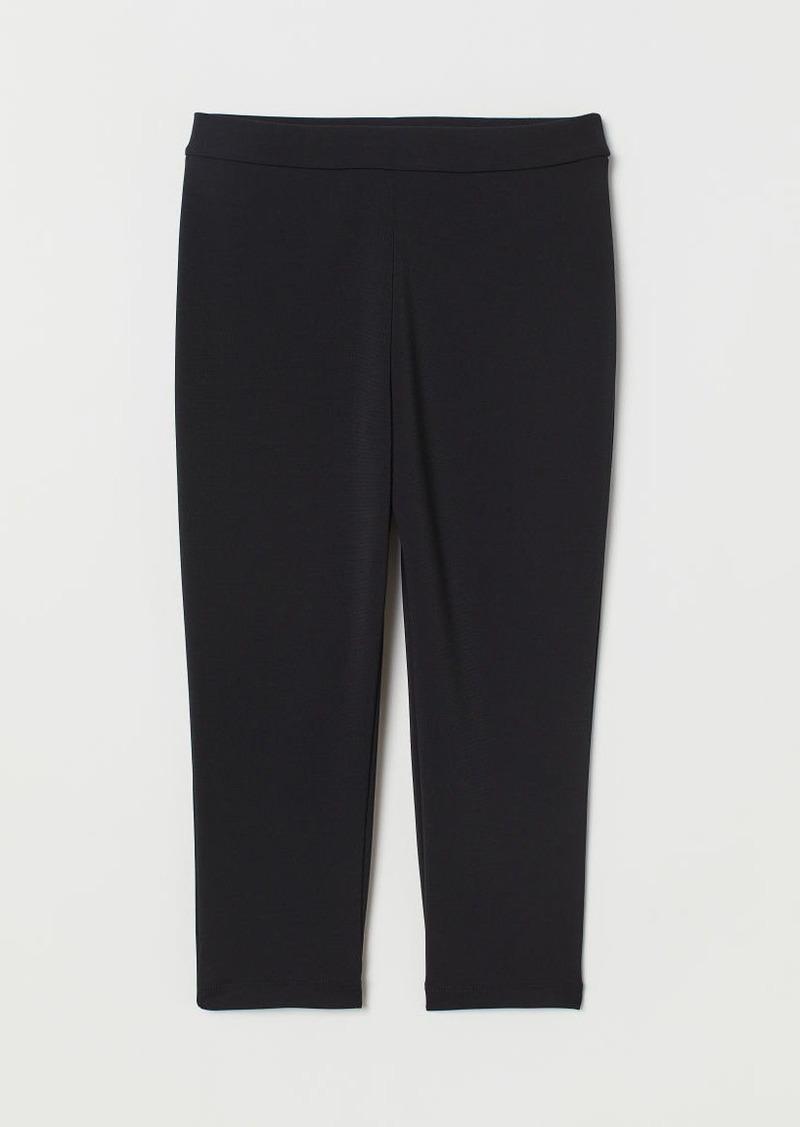 H&M H & M - Jersey Cycling Shorts - Black
