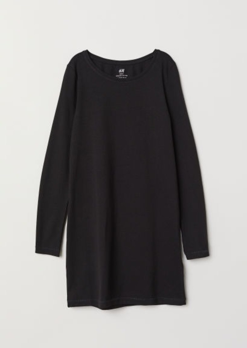 H&M H & M - Jersey Dress - Black