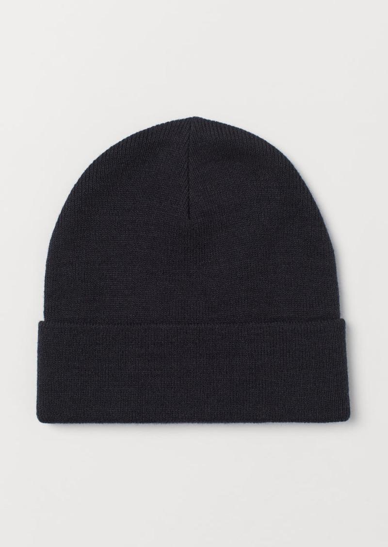 H&M H & M - Jersey Hat - Blue