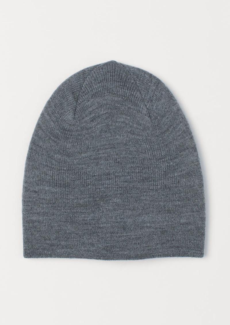 H&M H & M - Jersey Hat - Gray