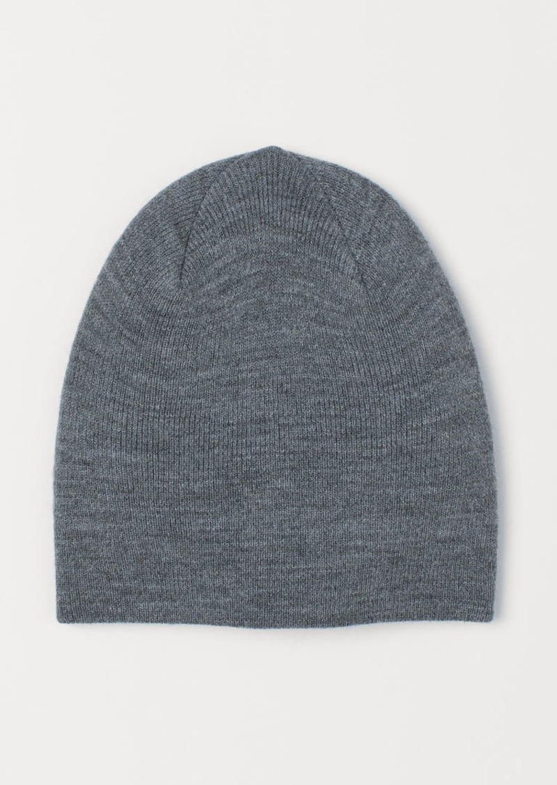 H&M H & M - Jersey Hat - Gray