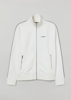 H&M H & M - Jersey Jacket - White