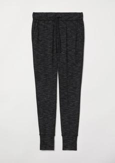 H&M H & M - Jersey Joggers - Black