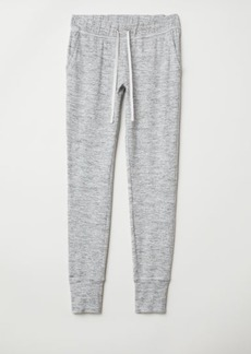 H&M H & M - Jersey Joggers - Gray