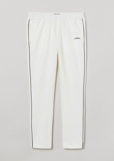 H&M H & M - Jersey Joggers - White