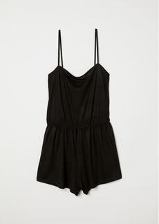 H&M H & M - Jersey Jumpsuit - Black