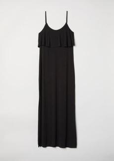 H&M H & M - Jersey Maxi Dress - Black